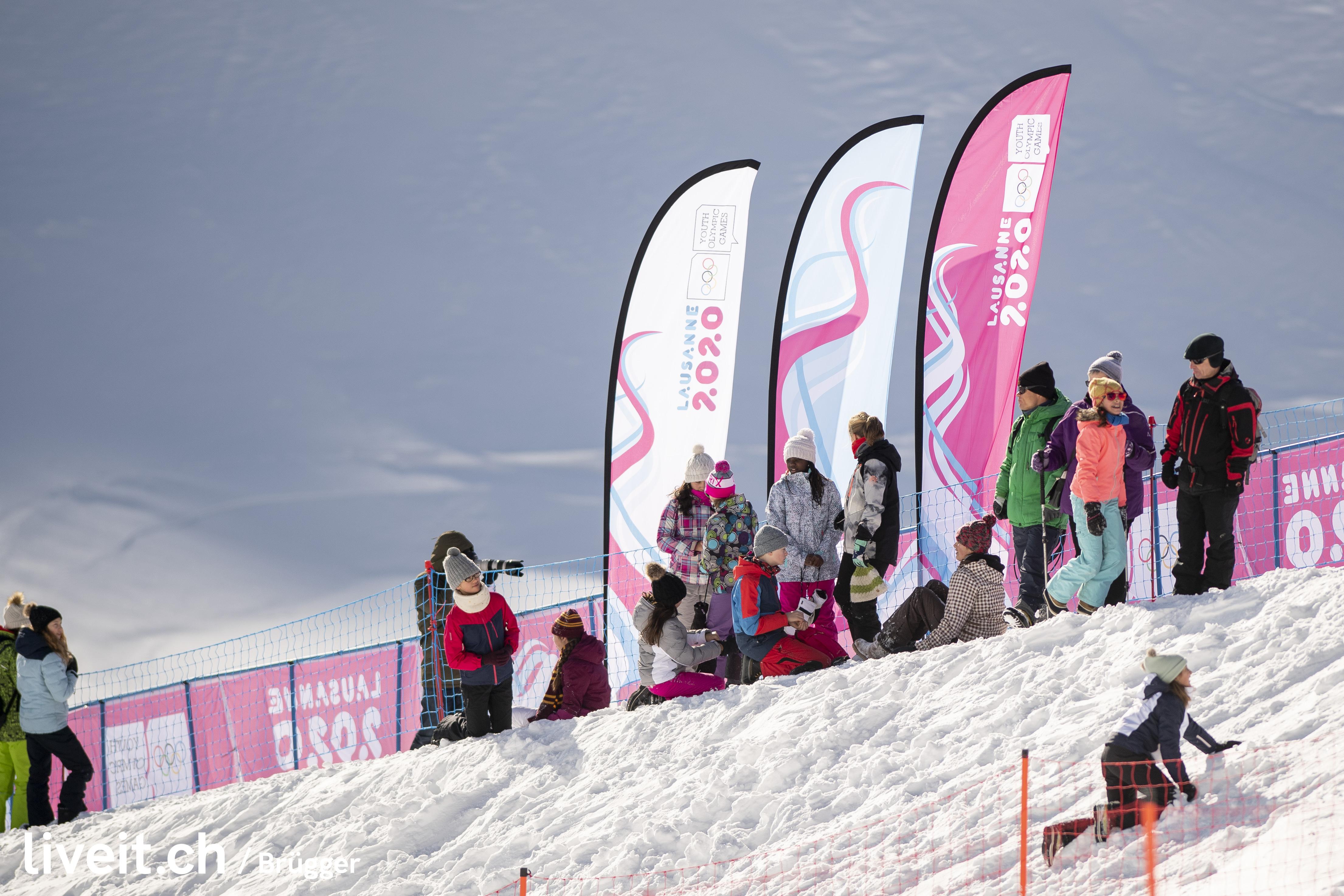 SWITZERLAND LAUSANNE YOG LAUSANNE2020 FREESKI SNOWBOARD HALFPIPE SLOPESTYLE