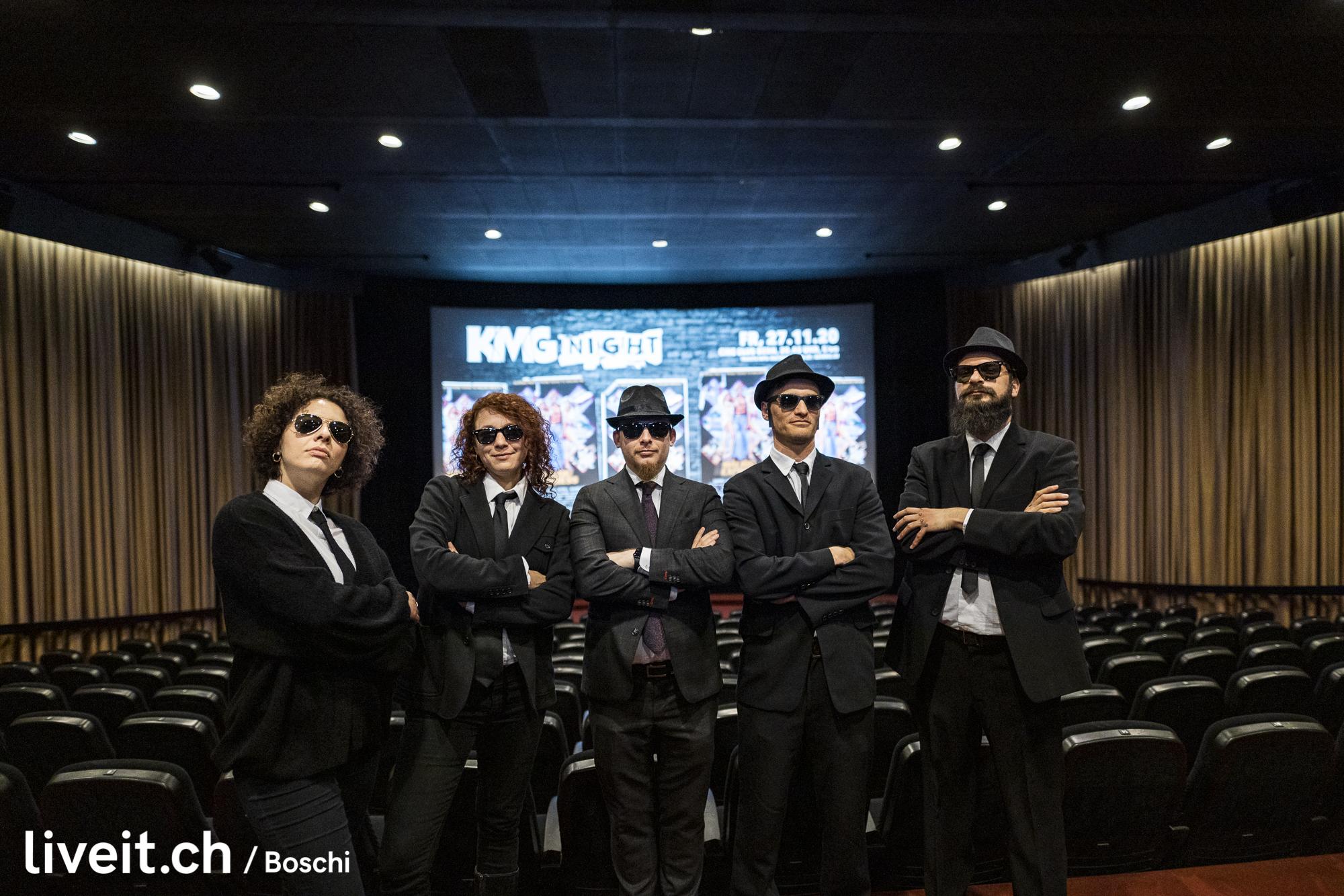 """Die KMG mit dem Kult-Film """"BluesBrothers""""(liveit.ch/boschi)"""
