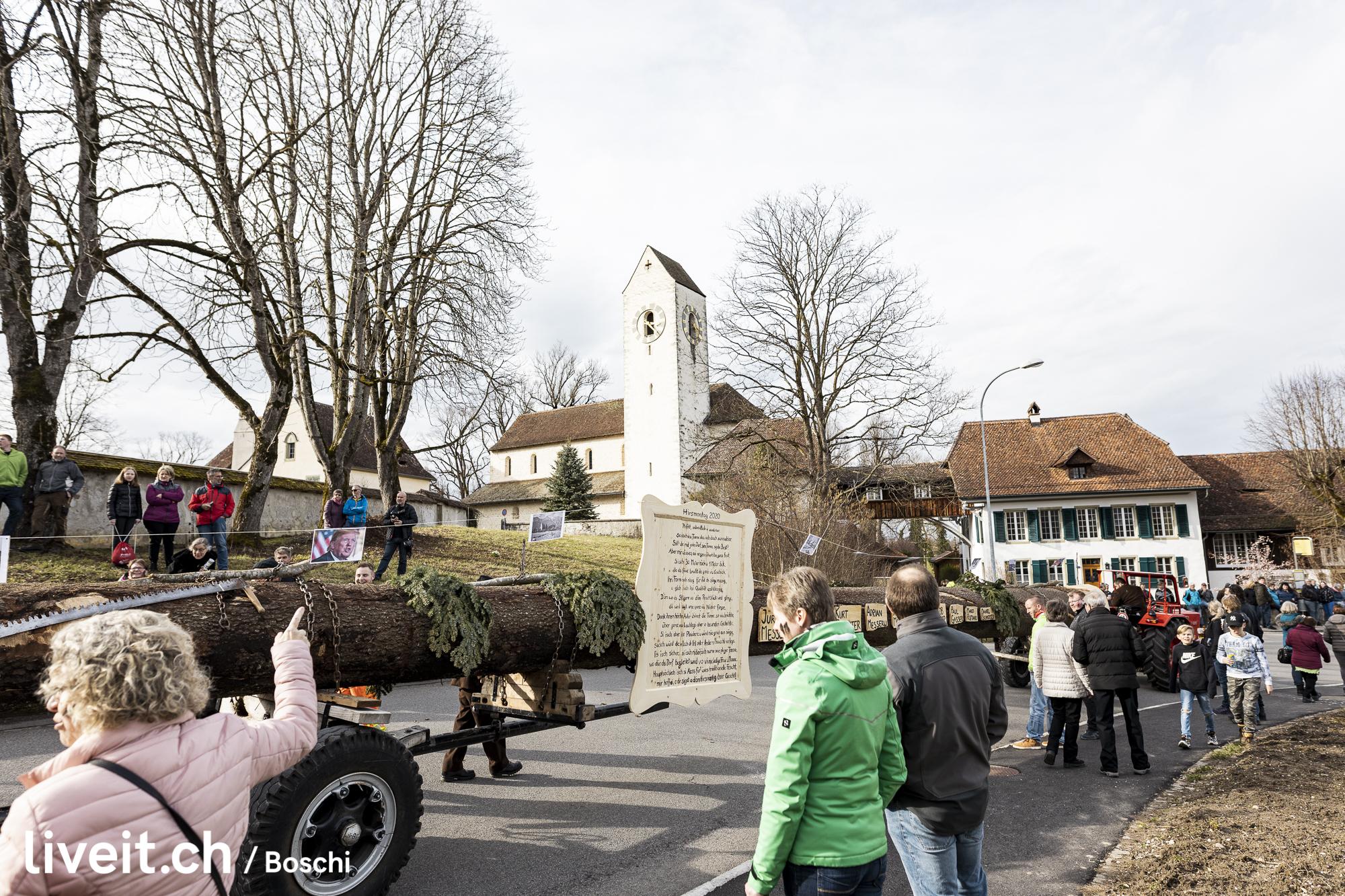 Der Hirsmontag findet alle zehn Jahre statt. Diesmal an einem Samstag.(liveit.ch/boschi)