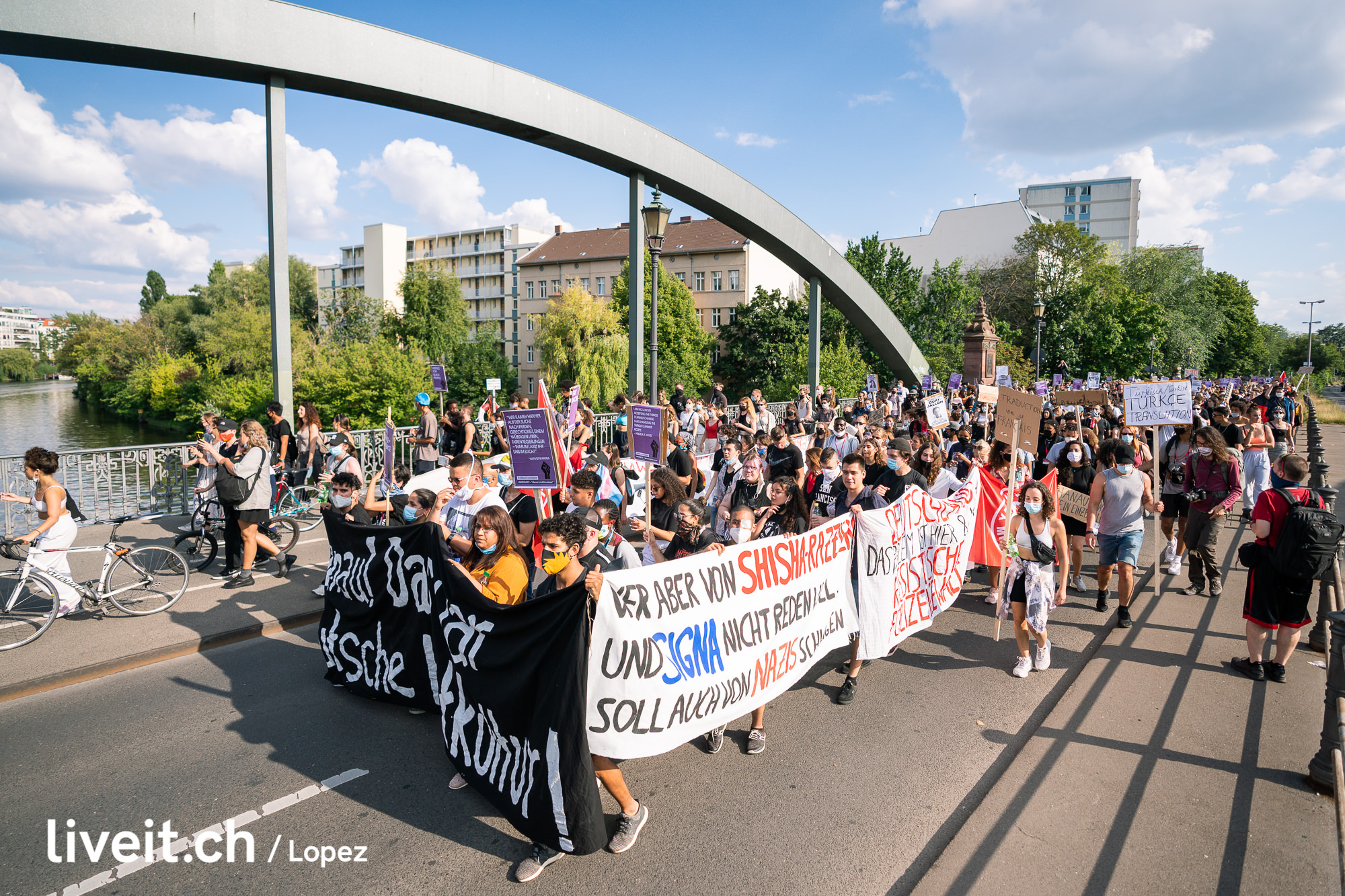 DEUTSCHLAND BLACK LIVES MATTER BERLIN