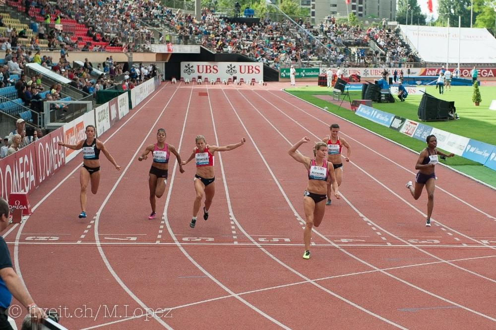 Women 100m (III) (Bild: Manuel Lopez)