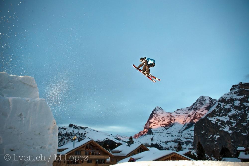 Die Alpen glühen, der Glühwein fliesst - perfekt ist das Fest.