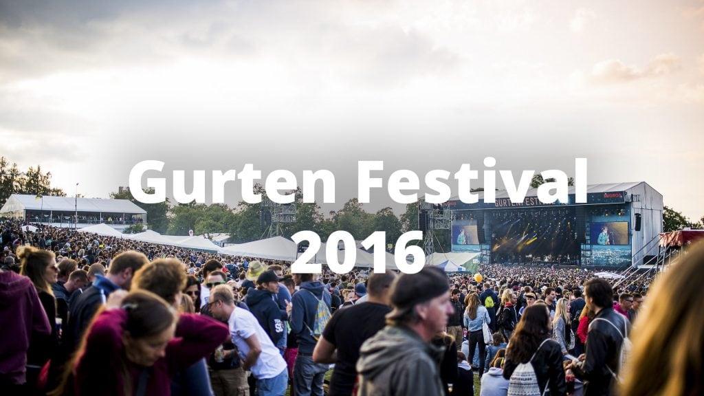 Gurtenfestival 2016